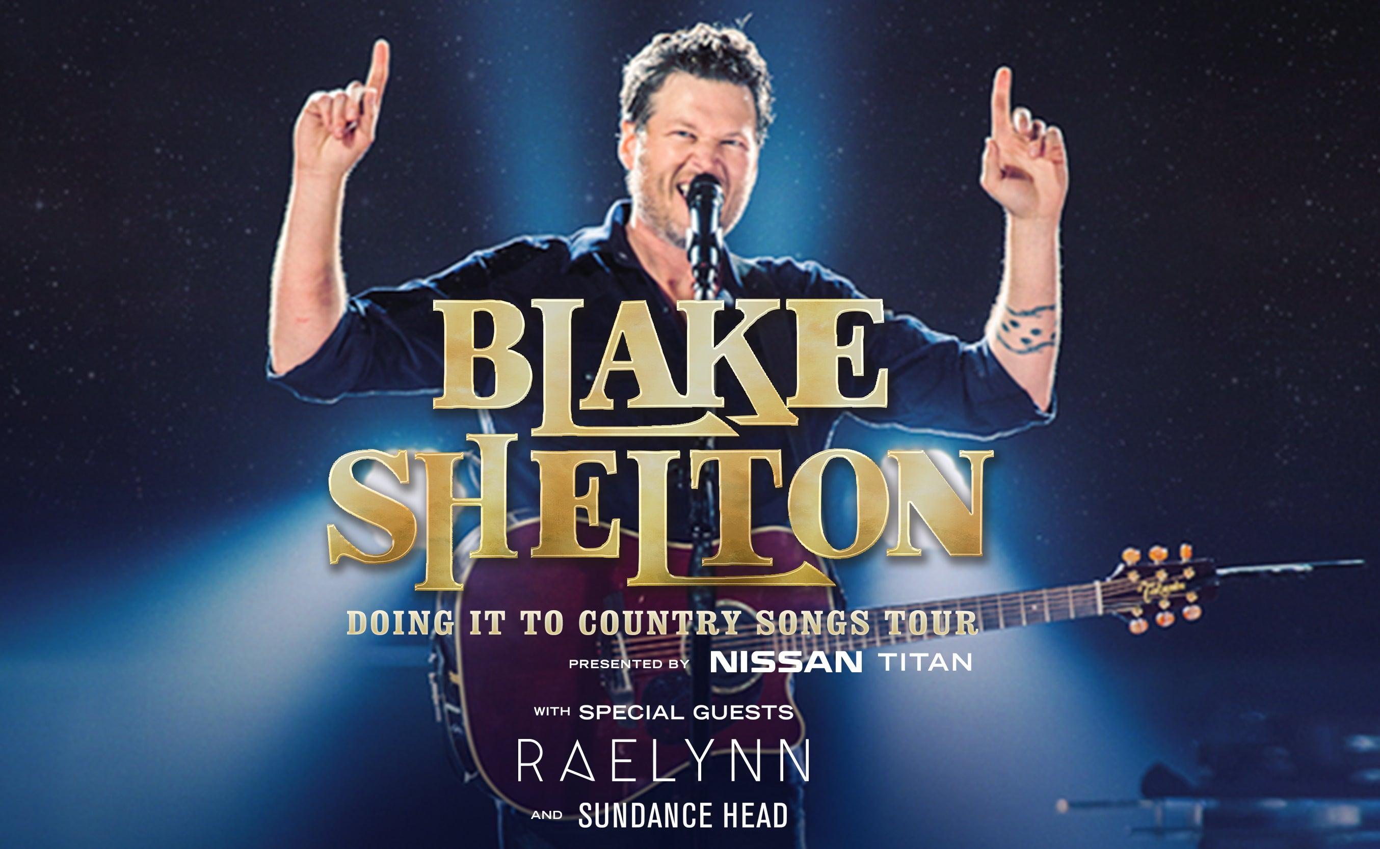 Nissan San Jose >> Blake Shelton | SAP Center