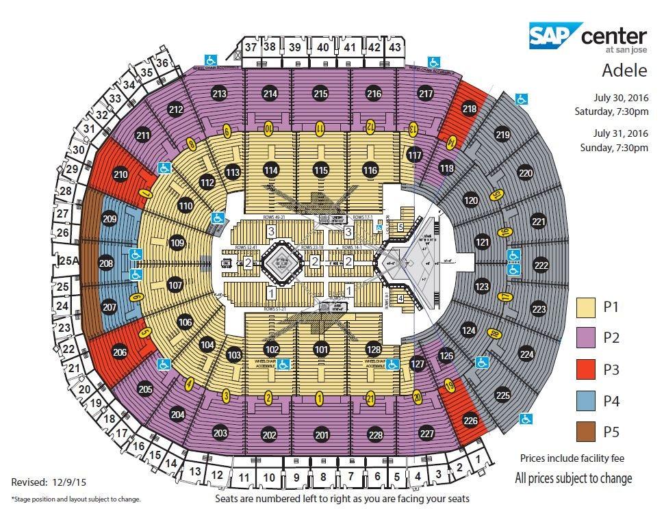 Adele | SAP Center