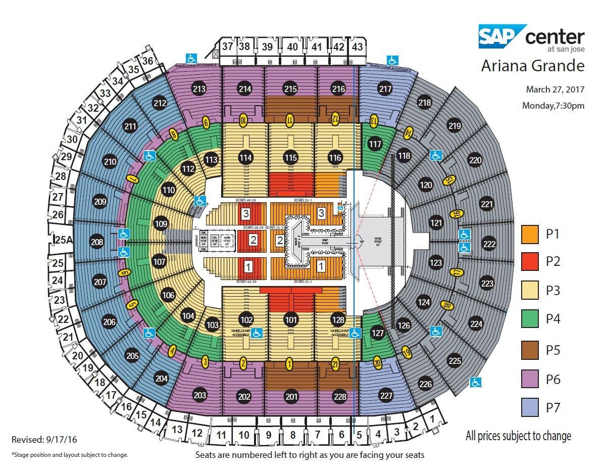 US Airways Arena Seating Chart US Airways Arena Tickets US