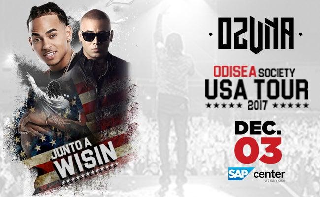 "OZUNA ""ODISEA SOCIETY TOUR"" | SAP Center"