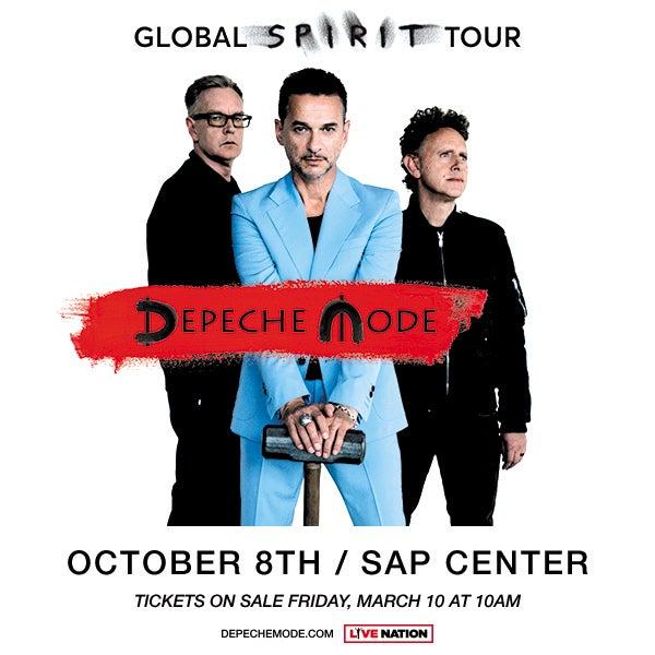 Depeche Mode Global Spirit Tour With Special Guest Warpaint