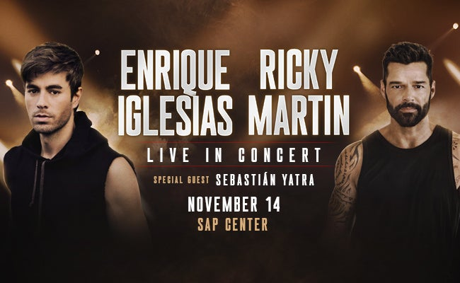 Rescheduled: Enrique Iglesias & Ricky Martin with special guest Sebastian Yatra