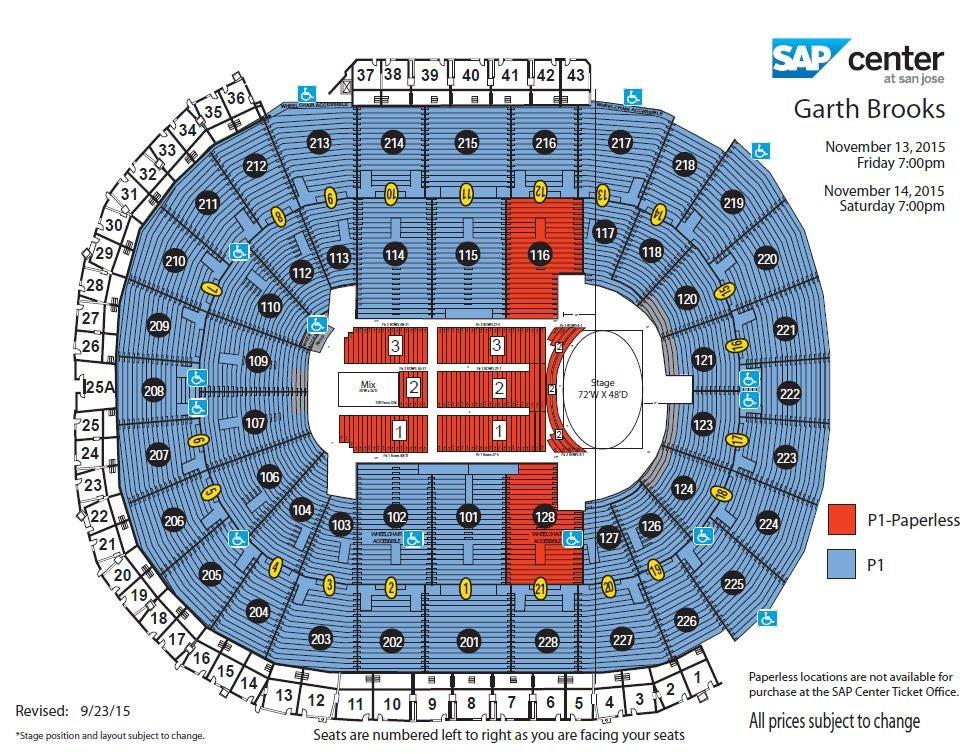 Garth Brooks World Tour | SAP Center