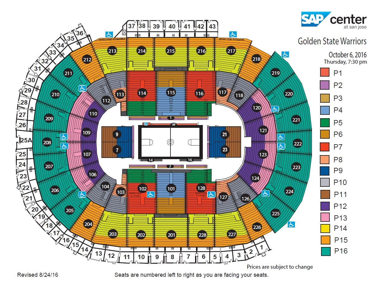 Golden State Warriors Vs Sacramento Kings Sap Center