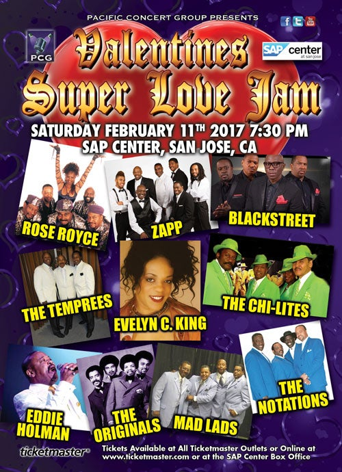 Valentines Super Love Jam SAP Center