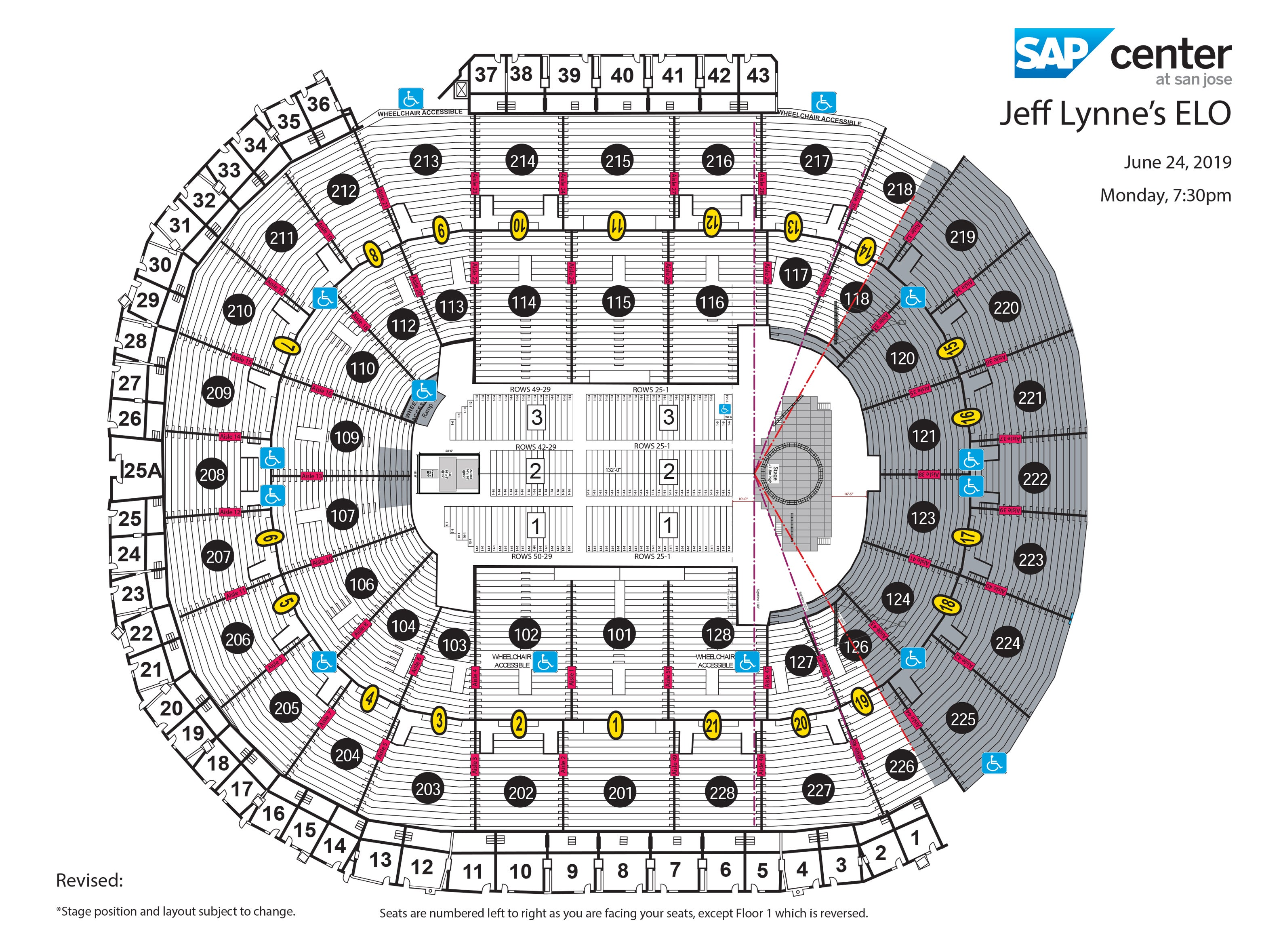 Stunning Beats By The Bay Seating Chart