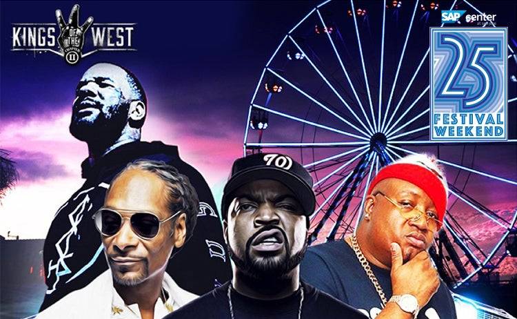Kings of the West: Snoop Dogg, Ice Cube, The Game, E-40