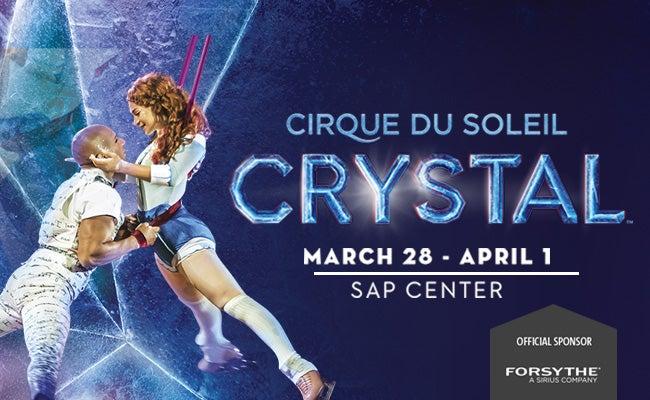 San Jose BMW >> Cirque du Soleil Crystal | SAP Center