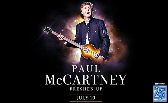 Bildresultat för SAP Center, San Jose and Paul Mccartney