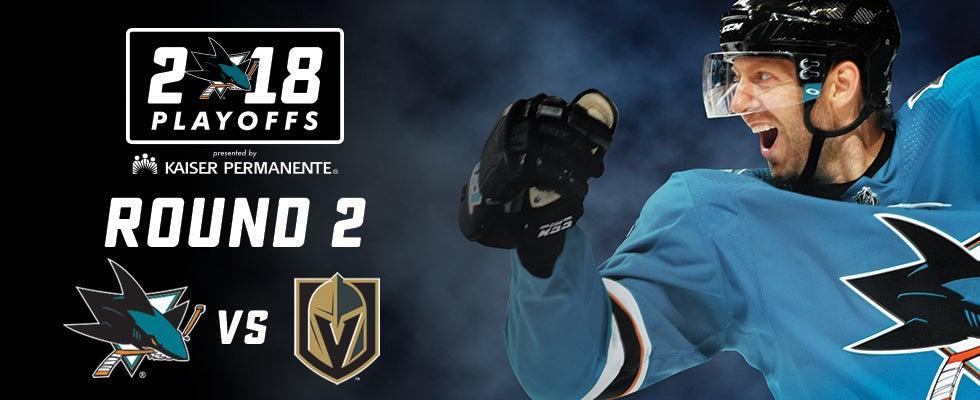 2018 Stanley Cup Playoffs: Sharks vs. Knights Round 2 Game 4