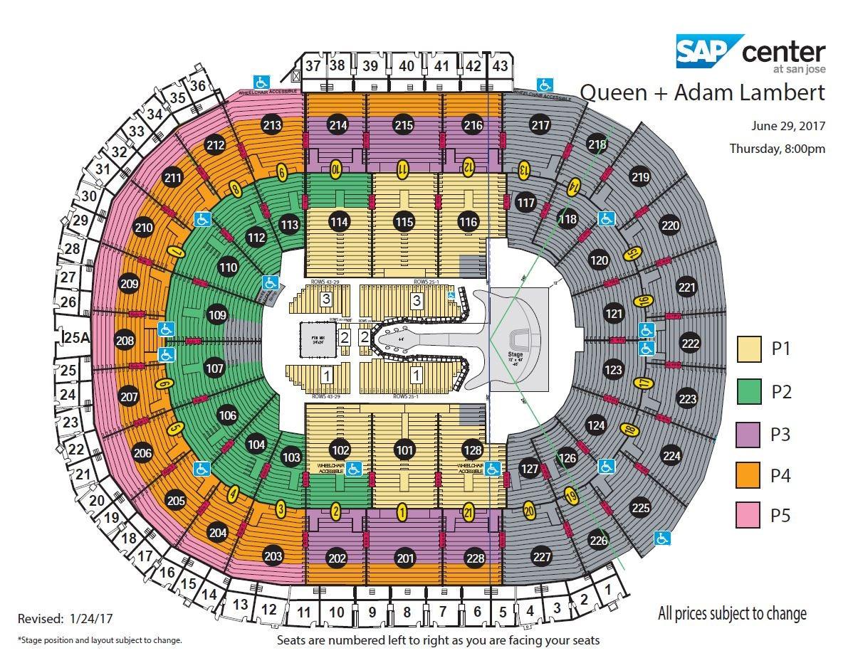 Queen + Adam Lambert | SAP Center
