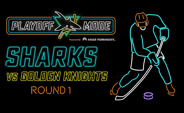 Stanley Cup Playoffs: Sharks vs  Golden Knights Round 1 Game 5 | SAP