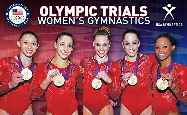 olympic gymnastics team Usa girls