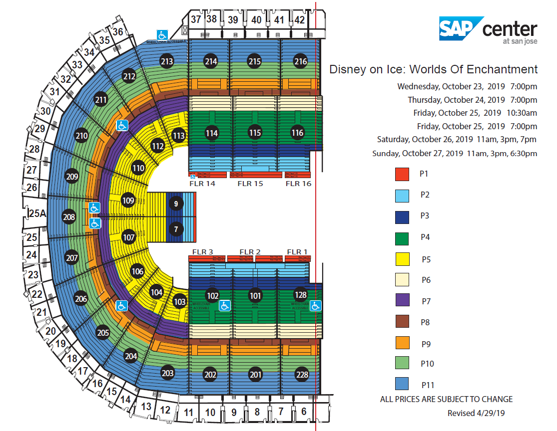 Disney on Ice: Worlds Of Enchantment   SAP Center on cast disney map, disney princess map, disney frozen map, pink map, disney dumbo map,