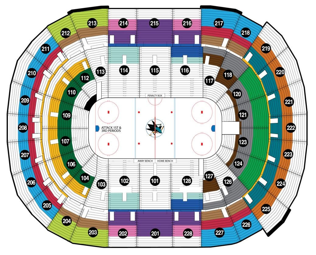 Sharks seating chart keni ganamas co