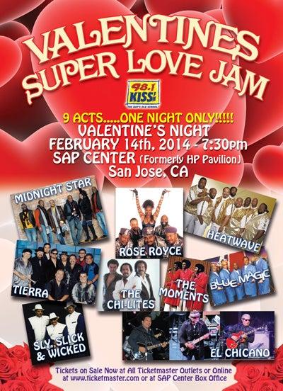 Bmw San Jose >> Valentine's Super Love Jam | SAP Center