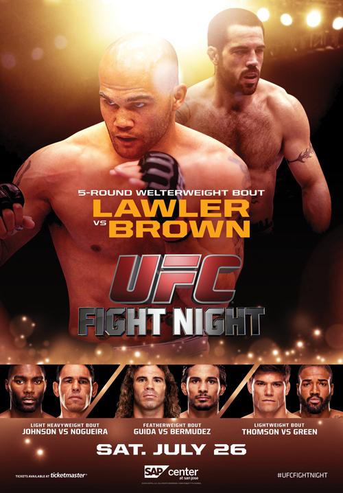 Ufc Fight Night Sap Center