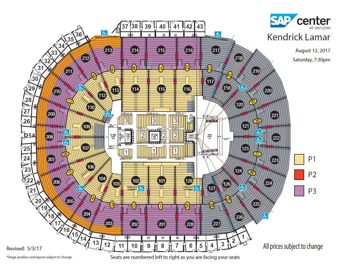 Kendrick Lamar Tour Tickets San Jose