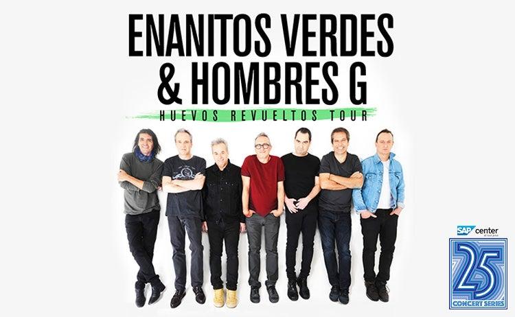 Enanitos Verdes Tour 2020 Enanitos Verdes & Hombres G | SAP Center